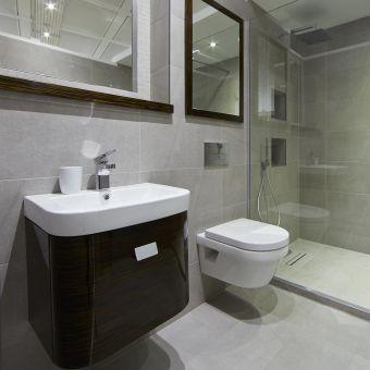 Abacus Opaz Ebony Basin & Vanity Unit 50cm