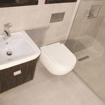 Abacus Opaz Ebony Basin & Vanity Unit 550mm - CLFN-05-3010
