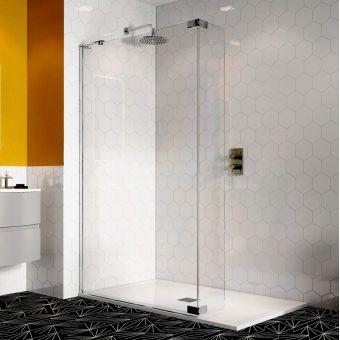 Crosswater Svelte 8 Walk In Shower Panel