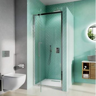 Crosswater Infinity 8 Pivot Shower Door 900mm