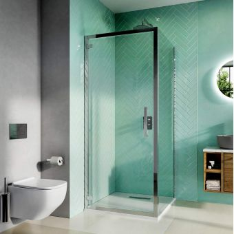 Crosswater Infinity 8 Hinged Shower Door
