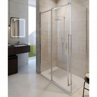 Crosswater Pier Sliding Door Shower Enclosure