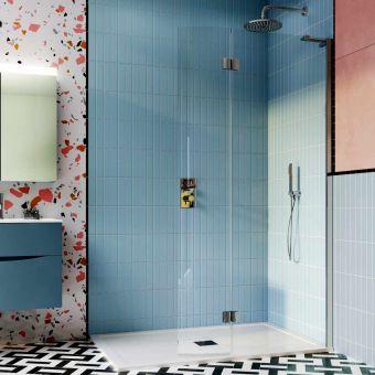 Crosswater Design 8 Easy Access Walk In Shower Enclosure