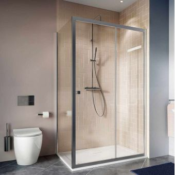 Crosswater Clear 6 Sliding Door Shower Enclosure