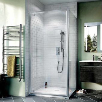 Crosswater Kai 6 Pivot Door Shower Enclosure