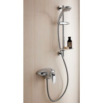 Trevi Blend Exposed Manual Valve & Multifunction Shower Kit
