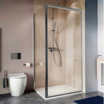 Crosswater Clear 6 Pivot Door Shower Enclosure