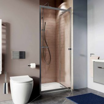 Crosswater Clear 6 Infold Door Shower Enclosure