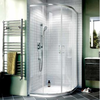 Crosswater Kai 6 Double Door Quadrant Shower Enclosure