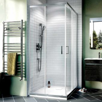 Crosswater Kai 6 Corner Entry Sliding Shower Enclosure