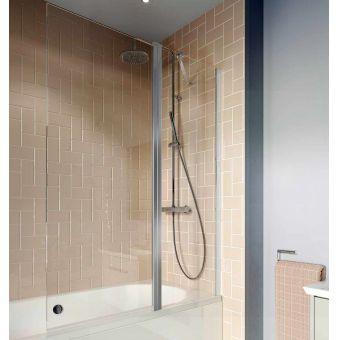 Crosswater Clear 6 Double Panel Bath Screen