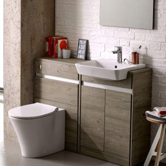 Ideal Standard Concept Air Cube 50cm Semi-Countertop Basin