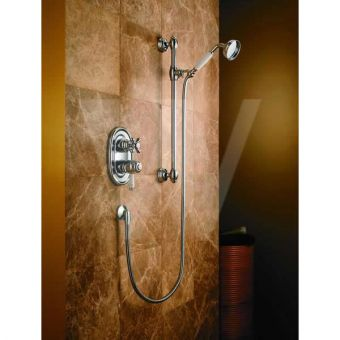 Trevi Tradition Concealed Valve with Single Function Shower Kit
