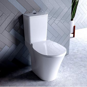 Ideal Standard Concept Air Cube Open Back Toilet with Aquablade - E079701