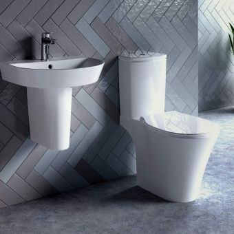 Ideal Standard Concept Air Arc Open Back Toilet with AquaBlade - E079701