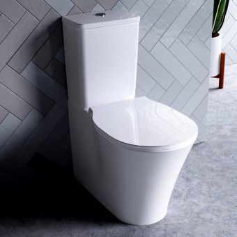 Ideal Standard Concept Air Cube Closed Back Toilet with Aquablade - E822801