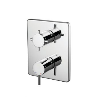 Trevi TT Concealed Shower Valve with Oposta Faceplate