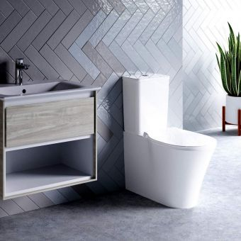 Ideal Standard Concept Air Cube Closed Back Toilet with Aquablade - E079801