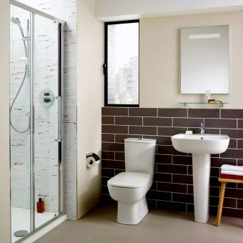 Ideal Standard Studio Echo Open Back Close Coupled Toilet