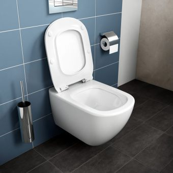 Ideal Standard Tesi Wall Hung Toilet with Aquablade