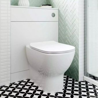 Ideal Standard Tesi Floorstanding Toilet with Aquablade