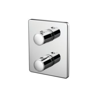 Trevi TT Concealed Shower Valve with Rivage Faceplate