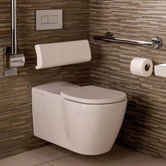Ideal Standard Concept Freedom Wall Hung Extended Rimless Toilet