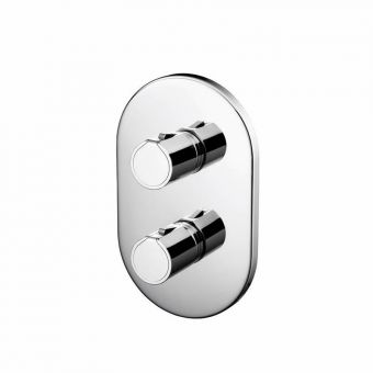 Trevi TT Concealed Shower Valve with Ascari Faceplate