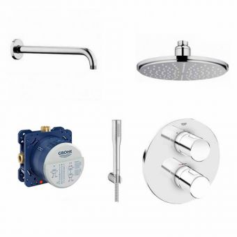 Grohe Grotherm 3000 Rainshower & Handset Pack