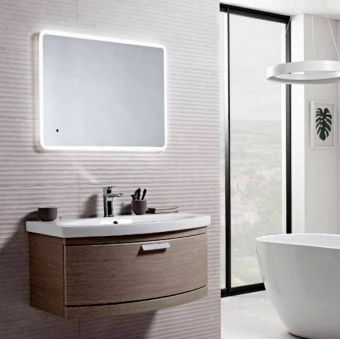 Tavistock Aster Slim Illuminated Mirror