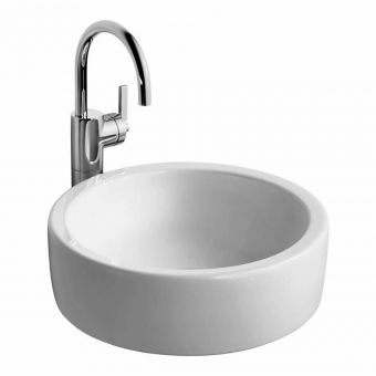 Ideal Standard Silver Single Lever Vessel Tall Basin Mixer