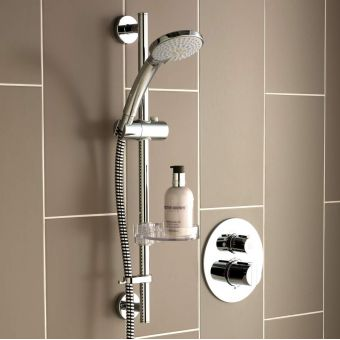Ideal Standard Concept Easybox Slim Shower Valve with Idealrain M3 Shower Kit