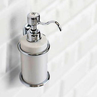 Burlington Traditional Wall Mounted Soap Dispenser