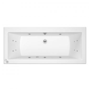 Trojan Solarna 14 Jet Double Ended Whirlpool Bath 1700 x 750