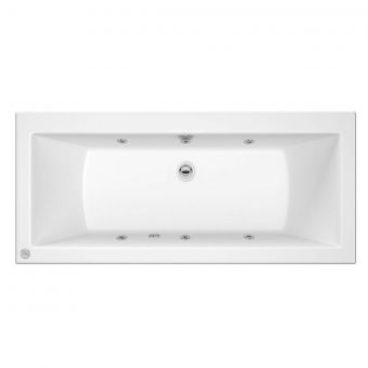 Trojan Solarna 6 Jet Double Ended Whirlpool Bath 1700 x 750