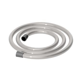 Abacus Emotion Brushed Nickel Shower Hose 1.60m