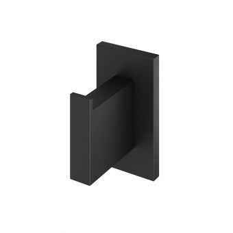 Abacus Pure Matt Black Robe Hook