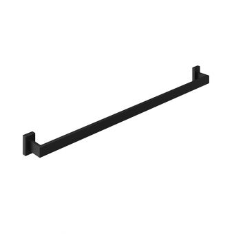 Abacus Pure Matt Black Single Towel Bar