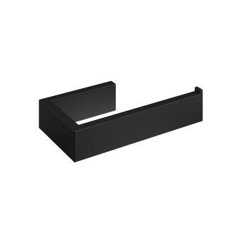Abacus Pure Matt Black Toilet Roll Holder