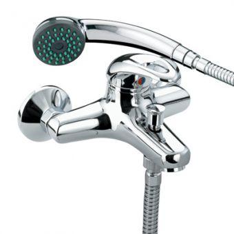 Bristan Java Wall Mounted Bath Shower Mixer Tap - J WMBSM C