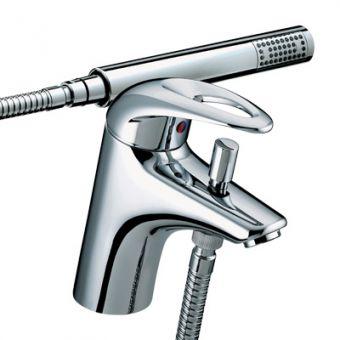 Bristan Java 1 Hole Bath Shower Mixer Tap - J 1HBSM C