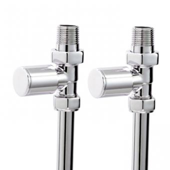 Phoenix Minimalist Straight Manual Radiator Valves