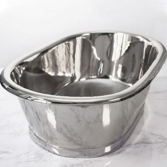 BC Designs Nickel Countertop Basin