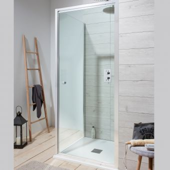 Crosswater Edge Pivot Shower Door