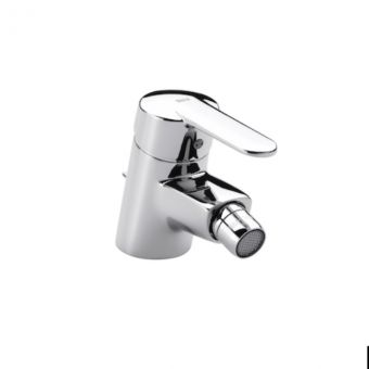 Roca Victoria Bidet Mixer Tap with Pop up Waste