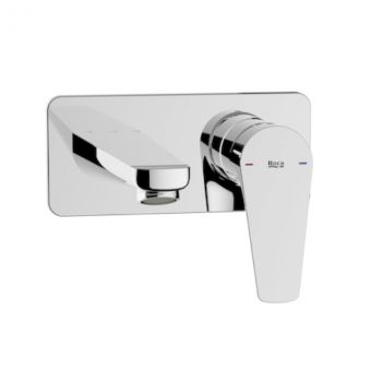 Roca Atlas Wall Mounted Basin Mixer Tap