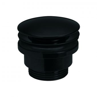 Crosswater MPRO Industrial Click Clack Basin Waste in Carbon Black - PRI0260M