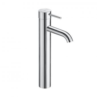 Roca Lanta Extended Height Smooth Body Basin Mixer Tap