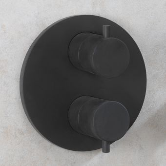 Crosswater MPRO Industrial Crossbox Shower Valve in Carbon Black