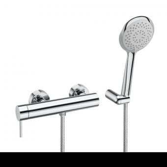 Roca Lanta Wall-Mounted Shower Mixer